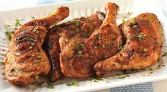 Grilled Moroccan-Spiced Griled Chicken Legs