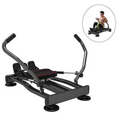 DEAR-JY Rowing Machines,Multi-Function Home Full-Sport Slimming Fitness Equipment,Adjustable Resistance Hydraulic Cardio… ※Rowing machine sports is a low-have an... Rowing Machines, Workout Machines, Fitness Equipment, No Equipment Workout, Low Impact Workout, At Home Gym, Aerobics, Cardio, Bed
