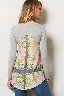 Anthropologie - Leland Peplum Top