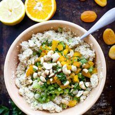 Cauliflower couscous, Couscous and Cauliflowers on Pinterest