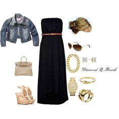 The Maxi Dress! Love it!, created by diamondqranch.polyvore.com