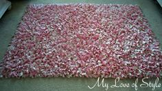 DIY Shag Rug 300x168 DIY Shag Rag Rug {Tutorial}.  Will be making this over the summer for college townhouse
