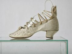 A Wedding Shoe, 1870s