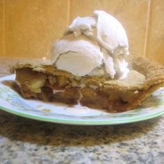 Delicous Apple Pie with Whole Wheat Crust  vegan, plantbased, earth balance, made just right