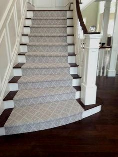 Stylish Stair Runner Pertaining To Stairs Carpet ...