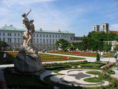 Mirabell Palace gardens- Salzburg, Austria