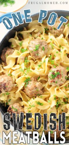 One Pot Dishes, One Pot Meals, Pasta Dishes, Delicious Dinner Recipes, Yummy Food, Skillet Recipes, Grilling Recipes, Family Meals, Frugal