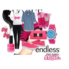 ThinkPink, created by minnie91 on Polyvore