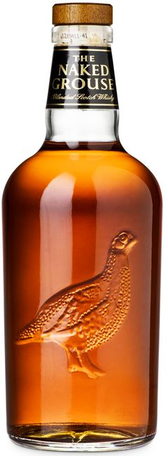 The Naked Grouse  This is the first whiskey bottle that has made me want to drink whiskey
