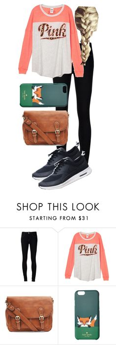 """""""Running to the store for midnight Ice cream"""" by aadams34501 ❤ liked on Polyvore featuring Ström and Kate Spade"""