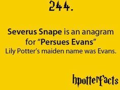 """HPotterfacts 244 -- too bad the actual spelling of the word is """"pursues"""" not """"persues"""""""