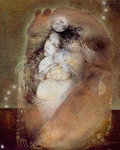 Susan Seddon-Boulet Archives Prints and Art Original - Turning Point Gallery Fabian Perez, Spirited Art, Mystique, Art Original, Bear Art, Animal Totems, My Spirit Animal, Wolf Spirit, Visionary Art