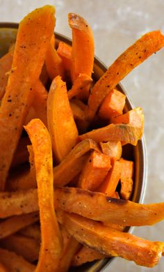 Sweet Potato Fries with Sriracha Creme Fraiche recipe: This dipping ...
