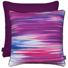 Rocco Interiors | Motion Purple Cushion