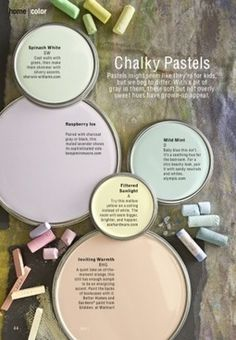 Into Color – 2013 Chalky Pastel Color Trends | Re-Do it Design | Paint Colors | Scoop.it