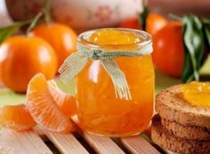 Have you tried tangerine jam? Ingredients: Tangerines - 1 kg Large orange - 1 pc. Sugar - 1 kg Water - 1 stack. Home Canning, Tasty, Yummy Food, Food Storage, Food Styling, Food Photography, Food And Drink, Cooking Recipes, Homemade