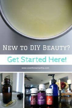 Learn how to get started with DIY beauty the right way. Essential Oils For Face, Essential Oil Uses, Young Living Essential Oils, Homemade Beauty, Diy Beauty, Beauty 101, Natural Oils, Natural Health, Young Living Oils