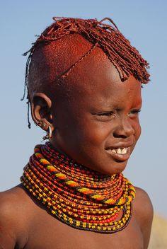 Turkana people, Kenya - by Rita Willaert, via Flickr