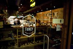 Staple and Fancy in Ballard, Washington, now serving Fat Cork Champagne! #champagne #eatlocal