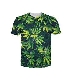CHECK OUT THIS SWEET DEAL!!! I want one today and tomorrow. Men's all over print available in all sizes.  Weed T-Shirt | All Over Print Marijuana Shirt from Raver Swag EDM (party fashion apparel) #alloverprint #marijuana #weed #clothing