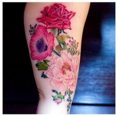 #floral #tattoo
