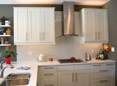 Off White Kitchen Backsplash grimslov off-white. i like the countertops too. | home reno