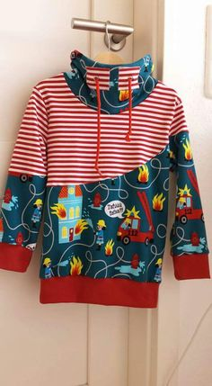 Letz fetz - New Ideas Sewing For Kids, Diy For Kids, Fashion Niños, Baby Outfits, Kids Outfits, Boys Shirts, Kids Wear, Refashion, Hoodies