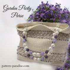 patternparadise crochet purse