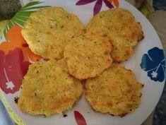 Nuggets de coliflor al horno (BLW) Receta de Ana Cocinela - Cookpad Tandoori Chicken, Cauliflower, Muffin, Eggs, Meat, Vegetables, Breakfast, Ethnic Recipes, Food