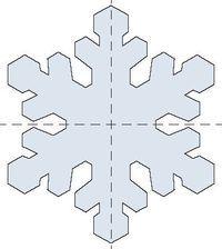 Molde Floco de Neve Frozen para EVA - Fazendo a Nossa Festa
