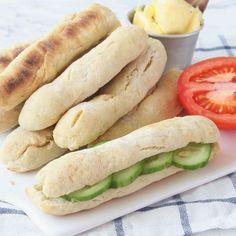 10-minuters frukostfrallor Bröd utan jäst Bread Recipes, Baking Recipes, Sandwiches, Danish Food, Swedish Recipes, English Food, Bread Baking, I Foods, Food Inspiration