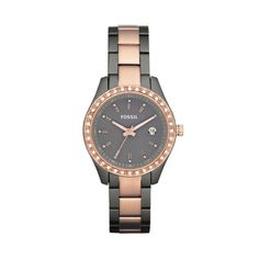 Mini Stella Watch – Rose Gold & Grey from Time by Fossil - R1,399 (Save 30%)