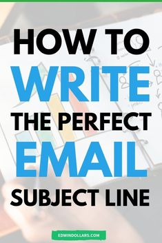 How do you write the perfect email subject line to get SUPER high open rates? Let me show you how I write my email subject lines here.