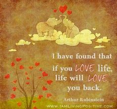 love life.. try it