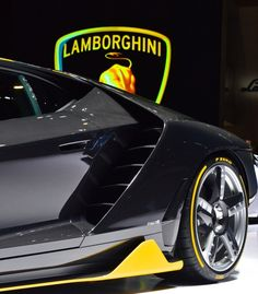 The Centenario's look is defined by a rather extreme aerodynamics package