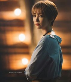 Go JoonHee #고준희 (Kim EunJoo 김은주) #숏컷 #쵸커 #여배우