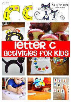 25 letter c crafts for kids