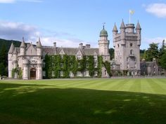Balmoral Castle is a large estate house in Royal Deeside, Aberdeenshire, Scotland. the current Balmoral Castle was completed in Scotland Castles, Scottish Castles, Scotland Uk, Aberdeen Scotland, Visiting Scotland, Scottish Cottages, English Castles, Scotland Travel, Photo Chateau