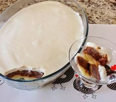See related links to what you are looking for. Portuguese Desserts, Portuguese Recipes, Trifle Desserts, Frozen Desserts, Candy Recipes, Sweet Recipes, Confort Food, Food Wishes, Creative Food