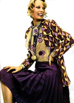 1970's fashion - ungaro