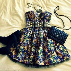 Girly Grunge Cute Summer Outfit