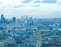 great views of London, Paramount bar and restaurant, New Oxford Street