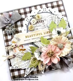 Scrapbook Projects – Page 3 – Polly's Paper Studio Shabby Chic Karten, Shabby Chic Cards, Vintage Greeting Cards, Greeting Cards Handmade, Vintage Postcards, Paper Cards, Diy Cards, Mothers Day Cards, Pretty Cards