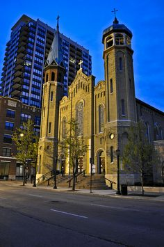 Old St Pats Church, Chicago, Illinois