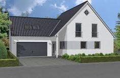 Großes Holzhaus mit Doppelgarage #wirbauenmitholz #einfamilienhaus ...