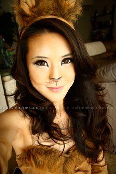 <3 this cat makeup!