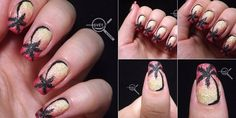 nail art Battle nail art challenge #1