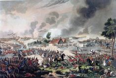 The Battle of Waterloo on June the battle that ended the dominance of the French Emperor Napoleon over Europe; the end of an epoch Waterloo 1815, Battle Of Waterloo, Epoch, Napoleonic Wars, Military, Fantasy, 18th, June, Pictures