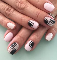 cute pink nail designs for 2017 -