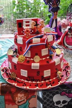Wreck it Ralph Bday cake
